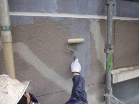 外壁シーラー塗布