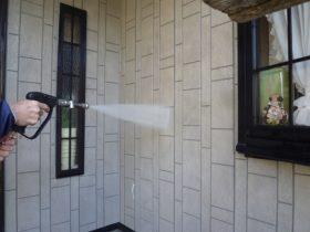 高圧洗浄(壁)